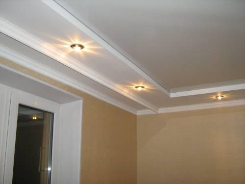 Потолки в интерьере потолок в